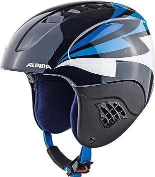 ALPINA A9035189 Cascos, Niños, Azul (Noche), Talla Única: Amazon.es: Deportes y aire libre