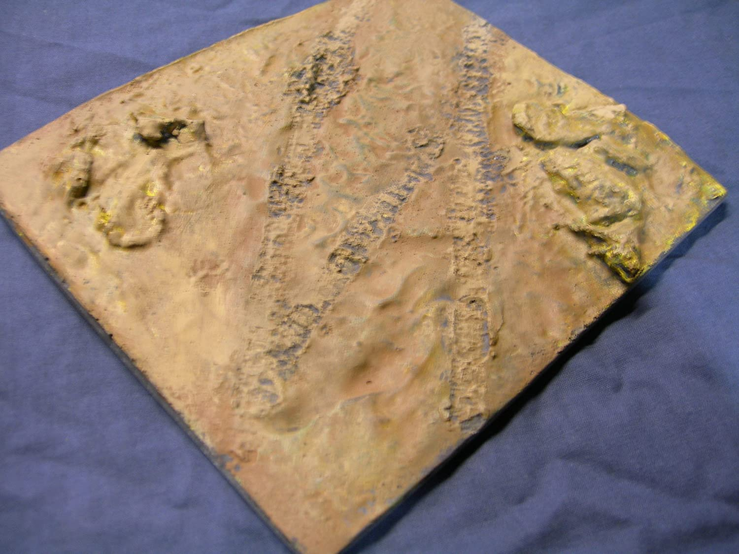 1/35 Scale ~ Country Diorama Base - size 200mm x 155mm