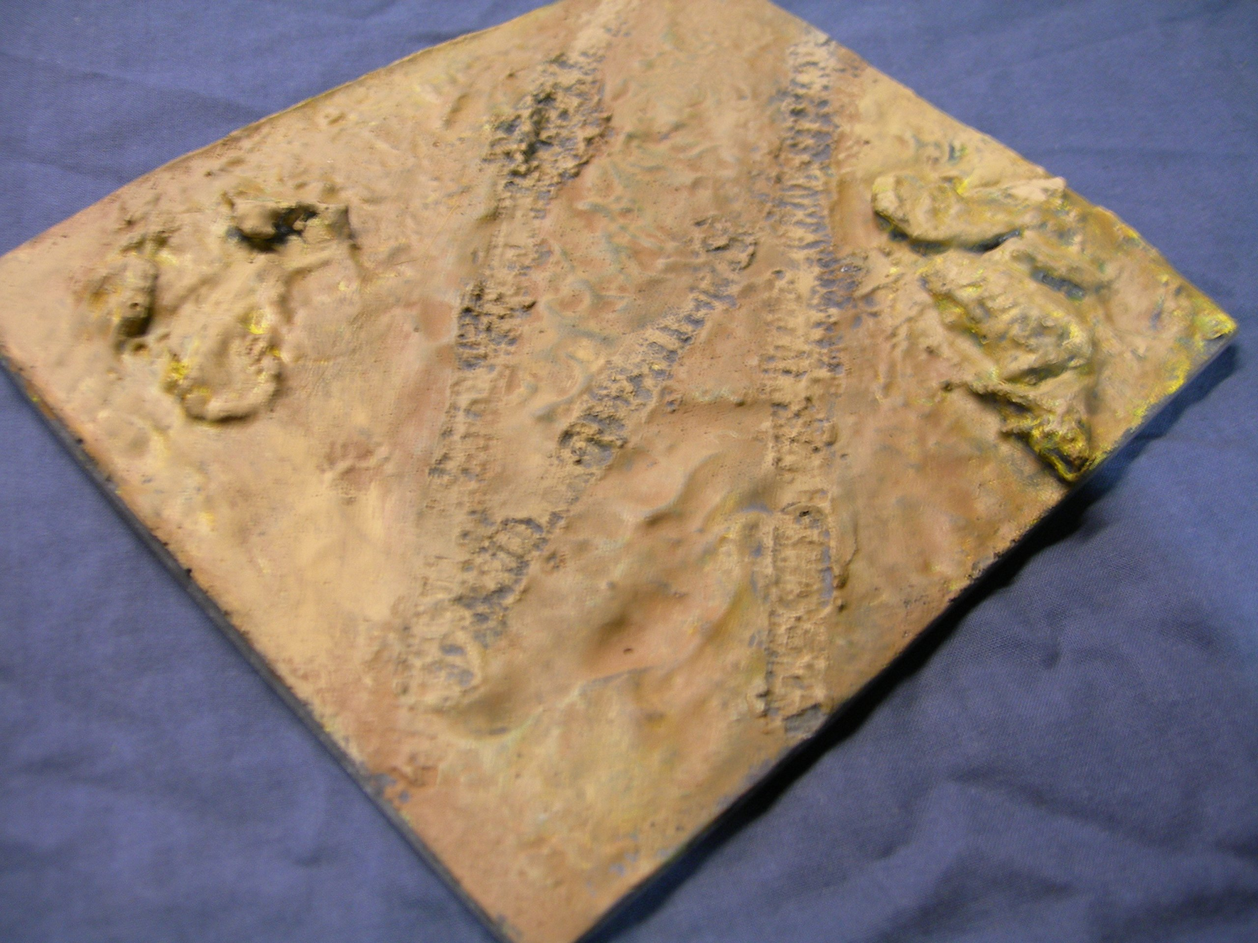 1/35 Scale ~ Country Diorama Base - size 200mm x 155mm by Fields of Glory (Image #1)