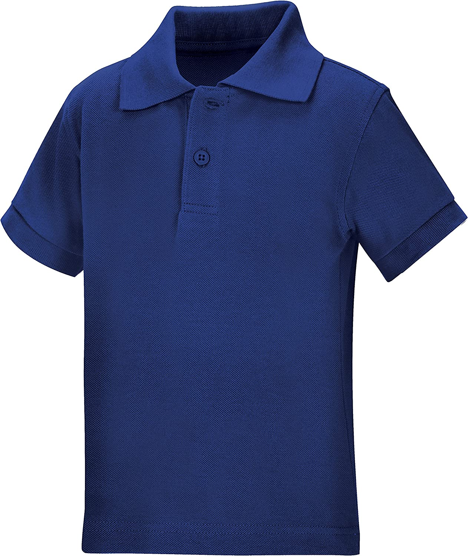 Classroom School Uniforms Kids' Toddler Preschool Unisex Short Sleeve Pique Polo: Clothing
