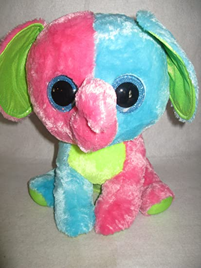 a762f5dcf54 Image Unavailable. Image not available for. Color  Plush Elephant Ty Beanie  Boo Elfie ...