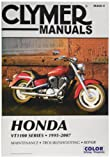 Clymer Repair Manual for Honda VT1100 VT-1100 Series 95-07