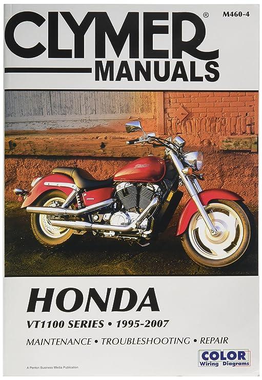 Amazon Com Clymer Repair Manual For Honda Vt1100 Vt 1100 Series 95 Rh  Amazon Com 1986 Honda Shadow VT1100 Service Manual Turn Signal For 1985 Honda  Shadow ...