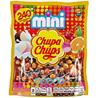 Deals on 240 Count Chupa Chups Mini Lollipops Suckers for Kids