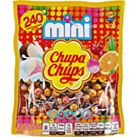 240-Count Chupa Chups Mini Lollipops Bag 50.8 Ounce