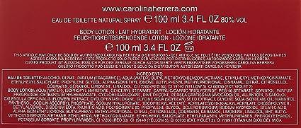 Carolina Herrera 2 Piece Travel Set for Women