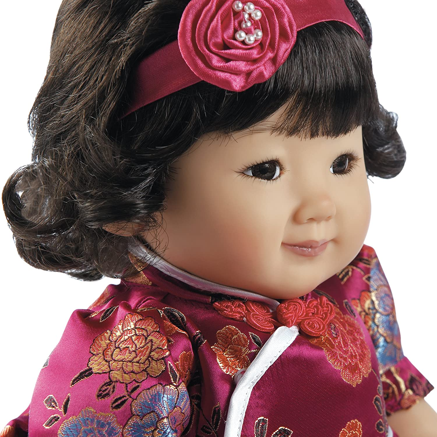 Amazon Paradise Galleries Asian Great to Reborn Baby Doll Quinn