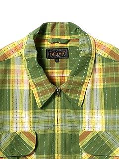 Zip Up Blouson 11-18-4036-139: Green