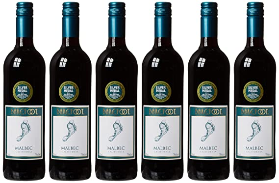 Barefoot Cellars Malbec California Red Wine, 75 cl (Case of 6)
