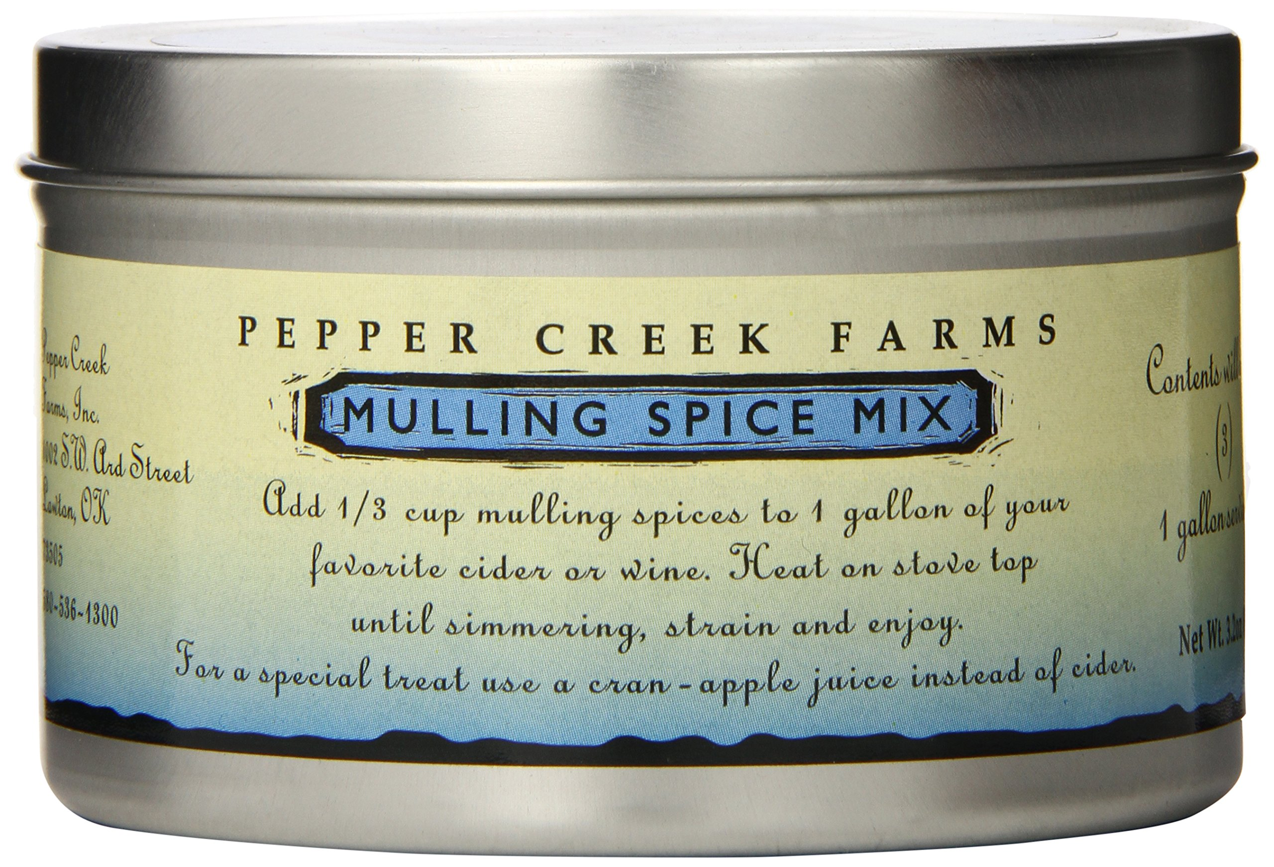 Pepper Creek Farms Spice, Mulling, 3.2 Ounce