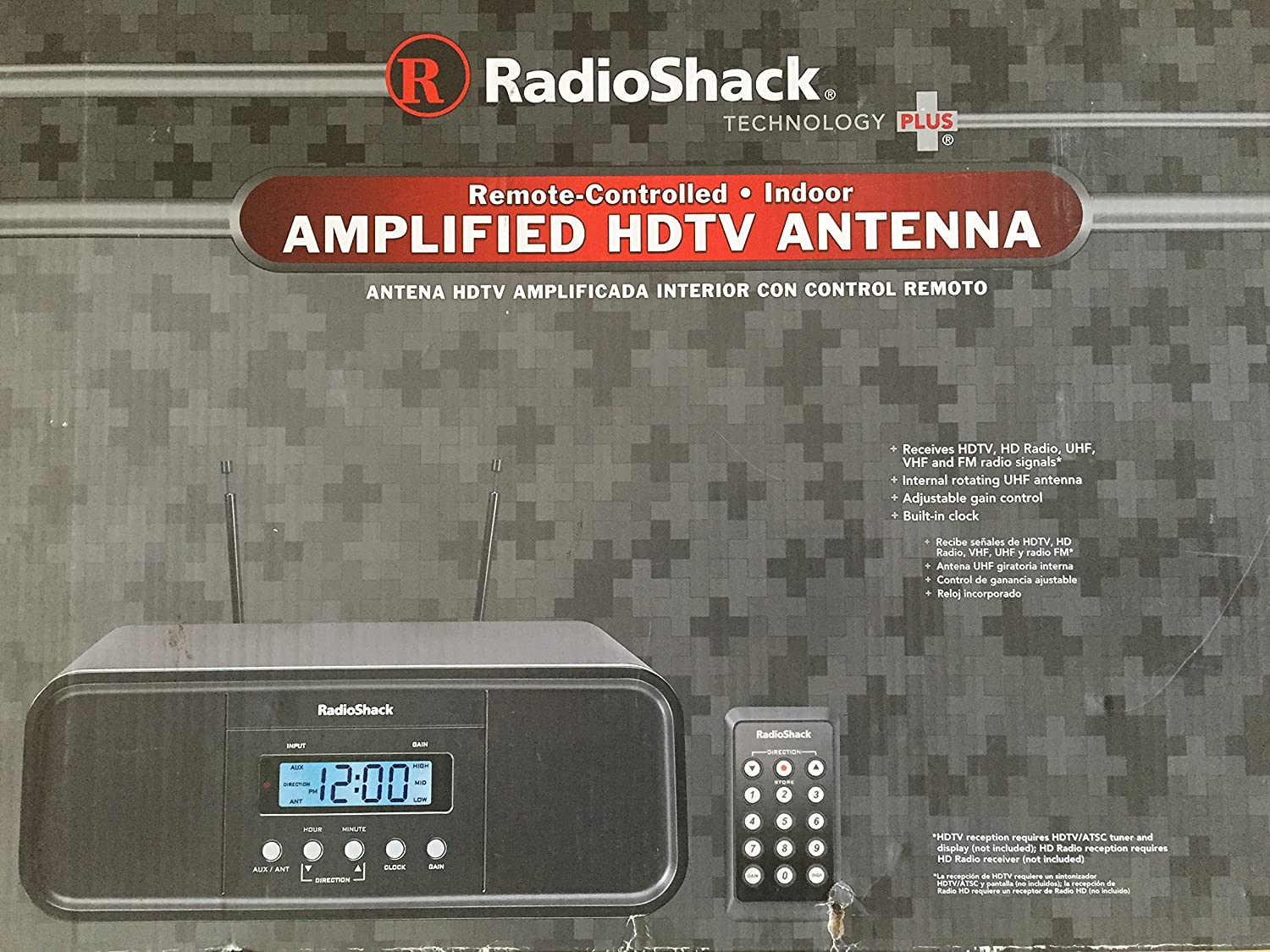 Amazon.com: Radioshack Remote Controlled Amplified Antenna: Home Audio & Theater