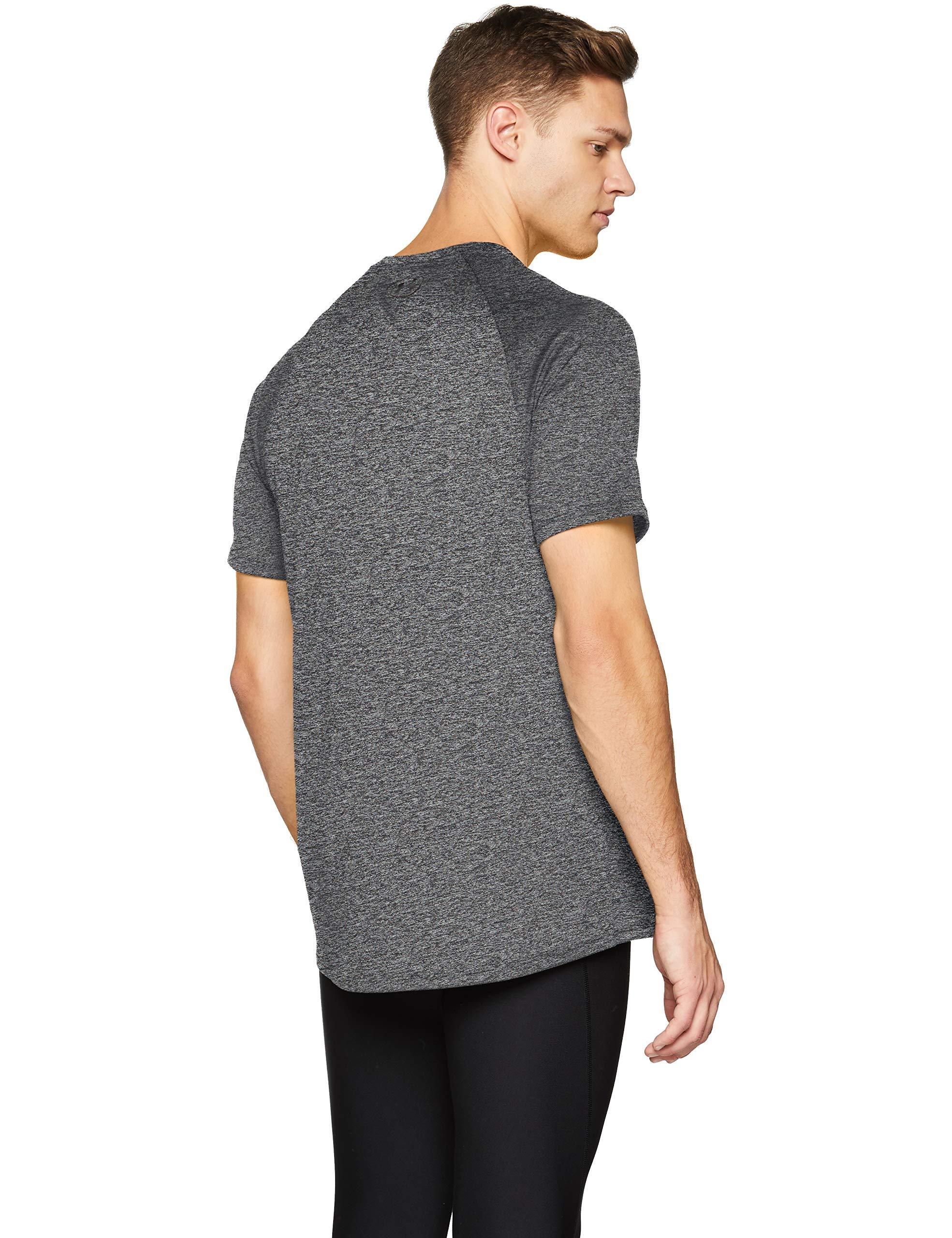 Under Armour Men's Tech 2.0 Short Sleeve T-Shirt, Black (002)/Black, 3X-Large by Under Armour (Image #2)