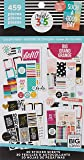 me & my BIG ideas Sticker Value Pack for Big Planner - The Happy Planner Scrapbooking Supplies - Color Story Theme - Multi-Color - Great for Projects & Albums - 30 Sheets, 459 Stickers Total