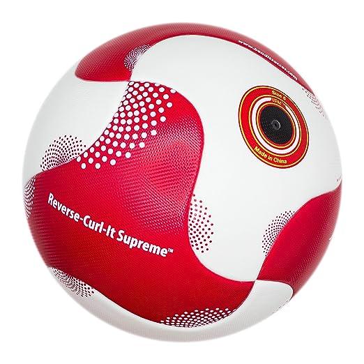 5 opinioni per Bend-It calcio, reverse-curl-it Pro, palla da calcio, misura 5, pallone