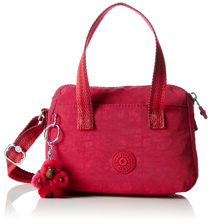 Kipling Leike, Borse a Spalla Bambina, 19.5x14x9.5 cm (W x H x L) Rosa (Cherry Pink C) K12546