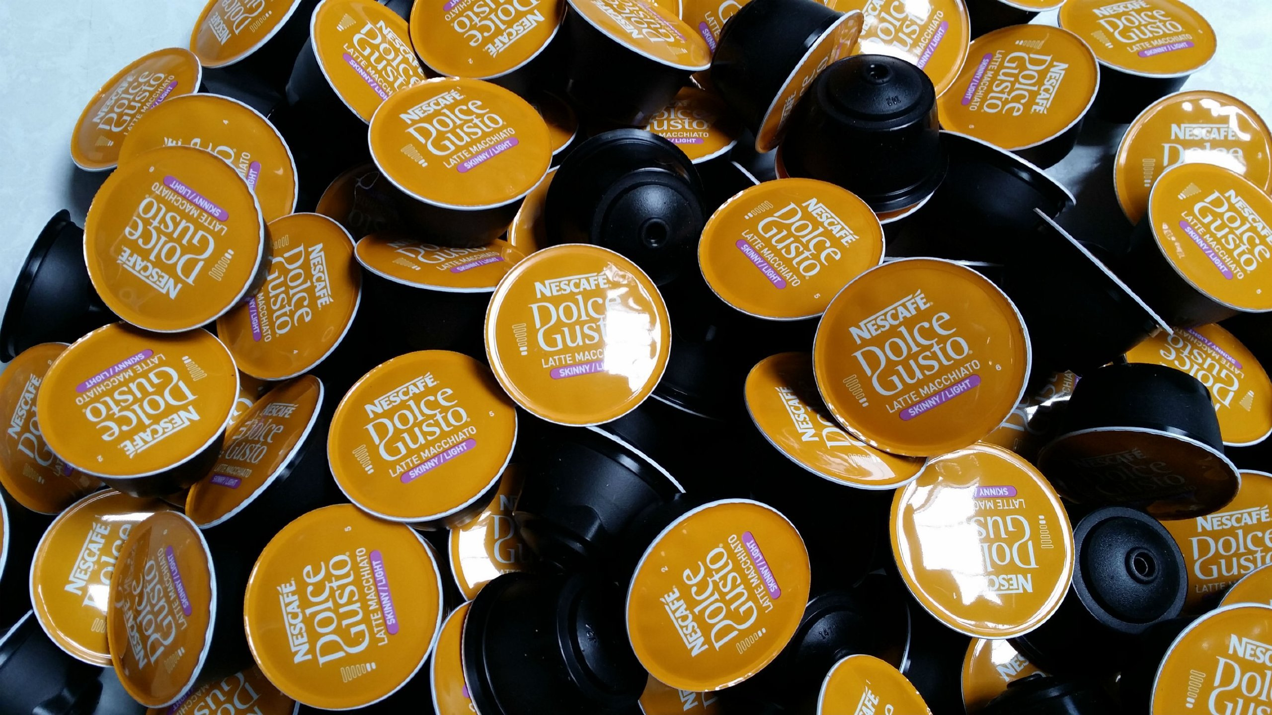 Dolce Gusto 50 X Nescafe Skinny Latte Coffee Pods Only No Milk Pods Sold Loose