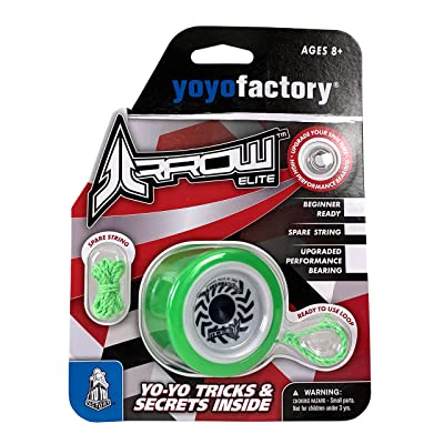 YoYoFactory Arrow Elite Rayon VERT Green: Toys & Games
