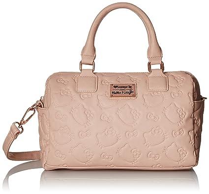 f5482ecbd Loungefly Hello Kitty Dusty Bag Convertible Cross Body, Blush, One Size
