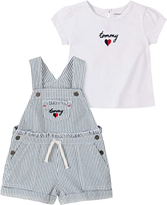 Tommy Hilfiger Baby Girls 2 Pieces Dress Set