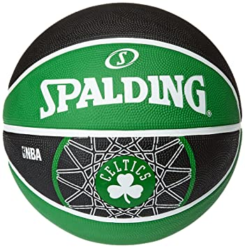 Spalding Boston Celtics - Pelota de Baloncesto, Talla 7: Amazon.es ...
