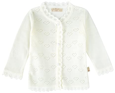 2af477de7 Amazon.com  Lilax Baby Girls  Little Hearts Knit Cardigan Sweater ...