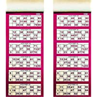 Tefarah TAMBOLA Tickets for Ladies Kitty/Picnic/Festival (RED Color) 1200 ticketss