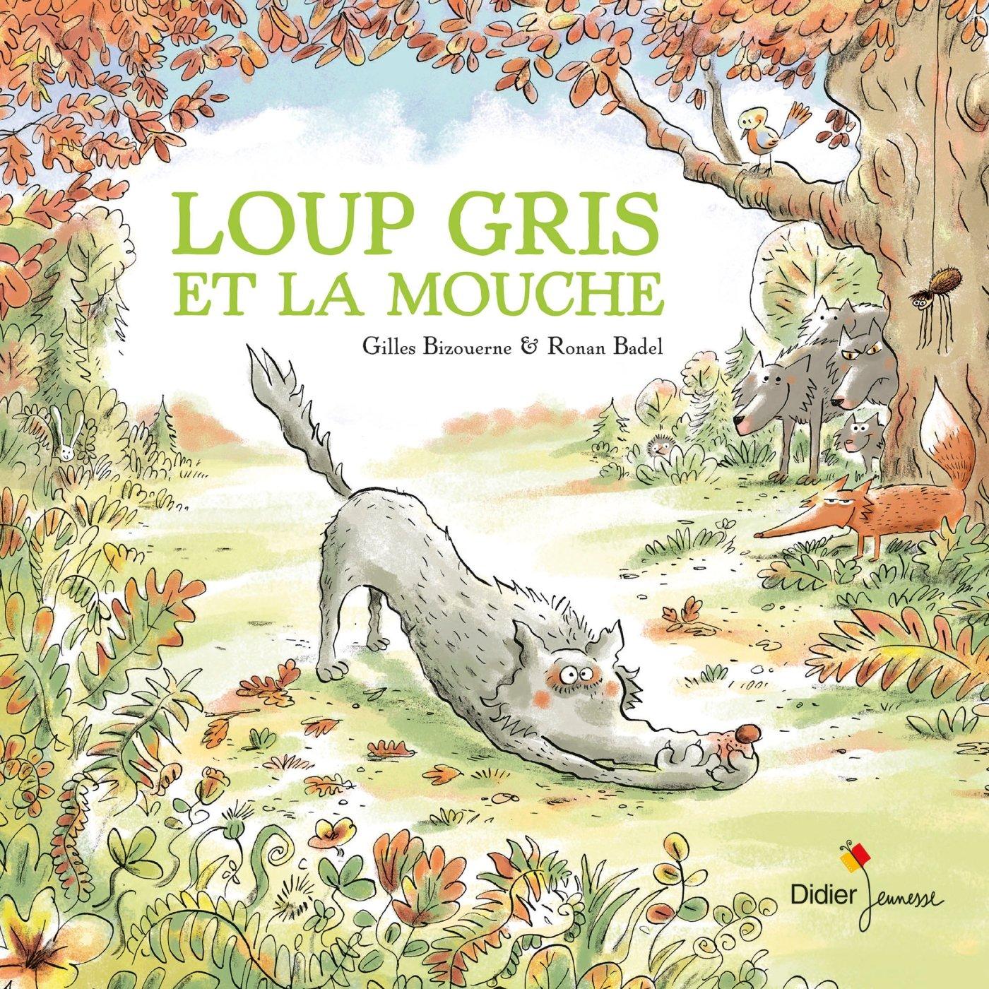 """Résultat de recherche d'images pour """"loup gris et la mouche"""""""