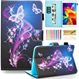 Galaxy Tab 4 7.0 SM-T230 Case, Dteck Slim Lightweigt PU Leather Stand Case with Card Slots Magnetic Closure Protective…