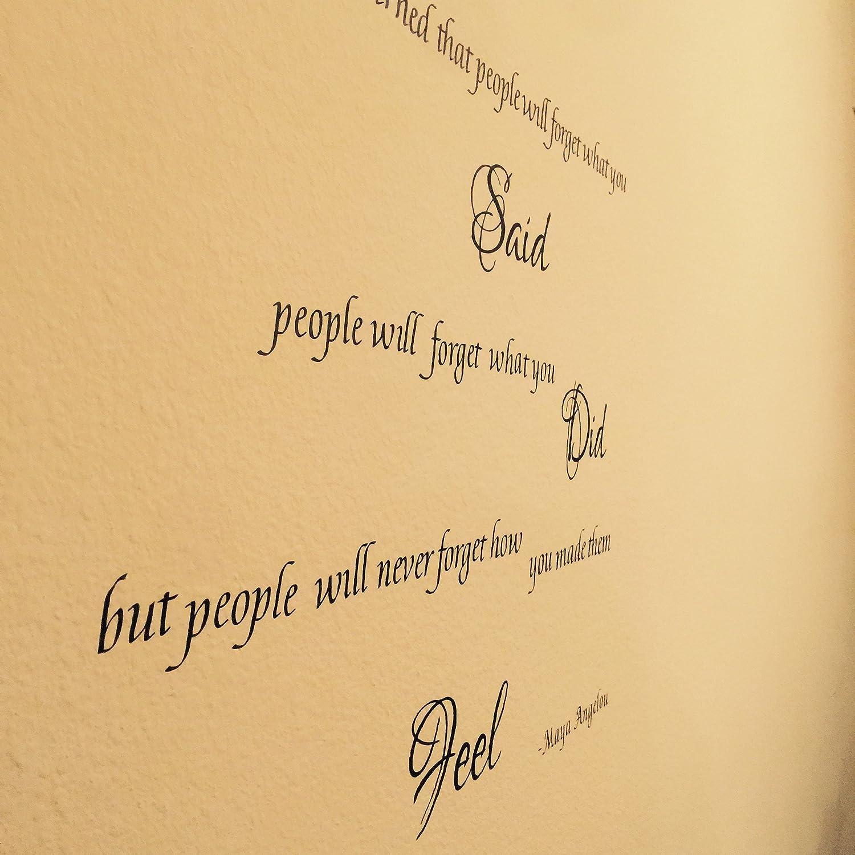 Amazon.com: Maya Angelou I\'ve Learned That People Inspirational ...