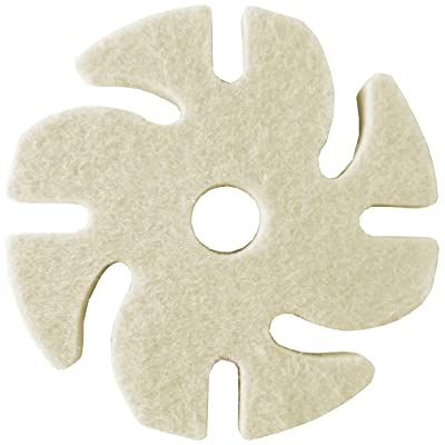 "JoolTool 3M Ninja See-Thru Buff and Polish Felt Wheel, Medium, 3"" Diameter: Industrial & Scientific"