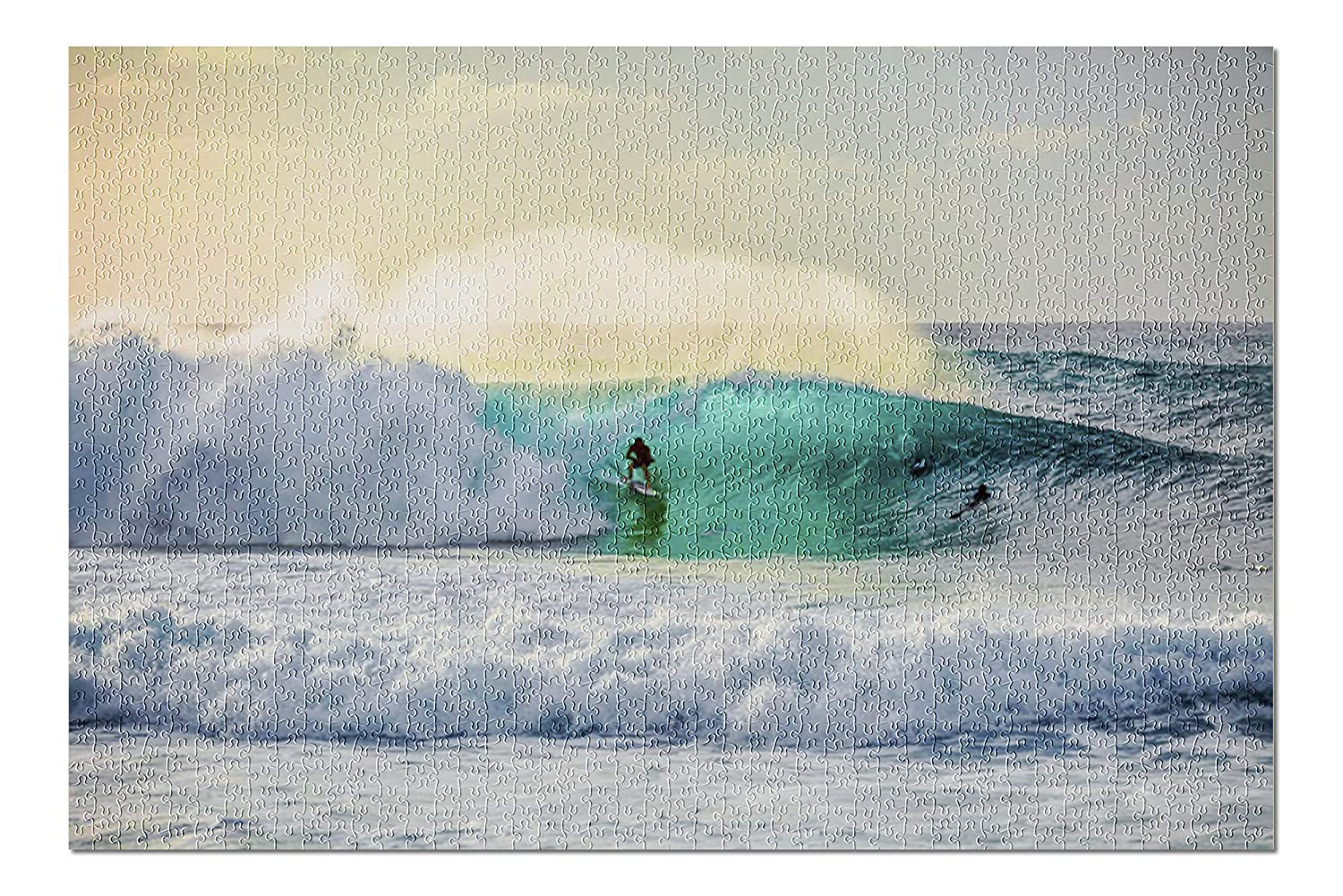 8ad90e59cb Amazon.com  Surfing Waves at Bonzai Pipeline on the North Shore of Oahu