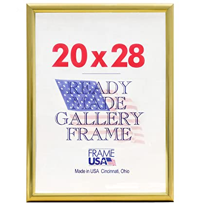 Amazon.com - Deluxe Poster Frame Frames, 20 x 28, Gold -