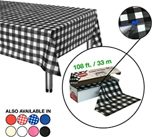 Win A Free 54 Inch x 108 Feet Roll Plastic Table Cloth