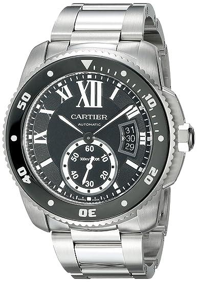 CARTIER CALIBRE DE CARTIER DIVER RELOJ DE HOMBRE AUTOMÁTICO W7100057: Amazon.es: Relojes