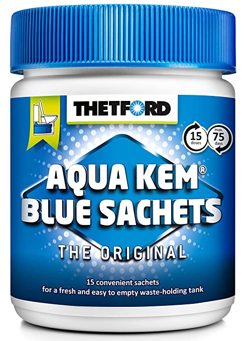 5 opinioni per THETFORD 200413 Aqua Kem Blue Sachets
