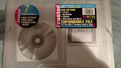 Amazon Expandable File For Documents Cds Business Cards