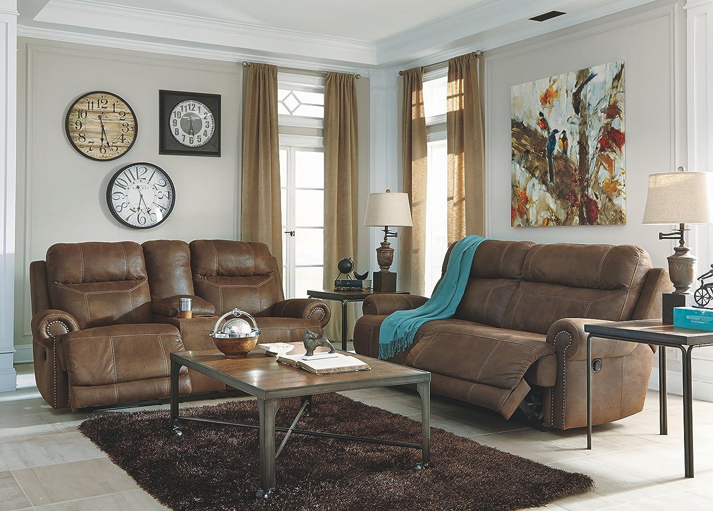 Austere Recliner Sofa #furniture