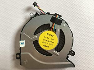 HK-Part Fan Replacement for HP Pavilion 15-AB 17-G 15-AB000 15-AB100 Series CPU Cooling Fan PN 812109-001