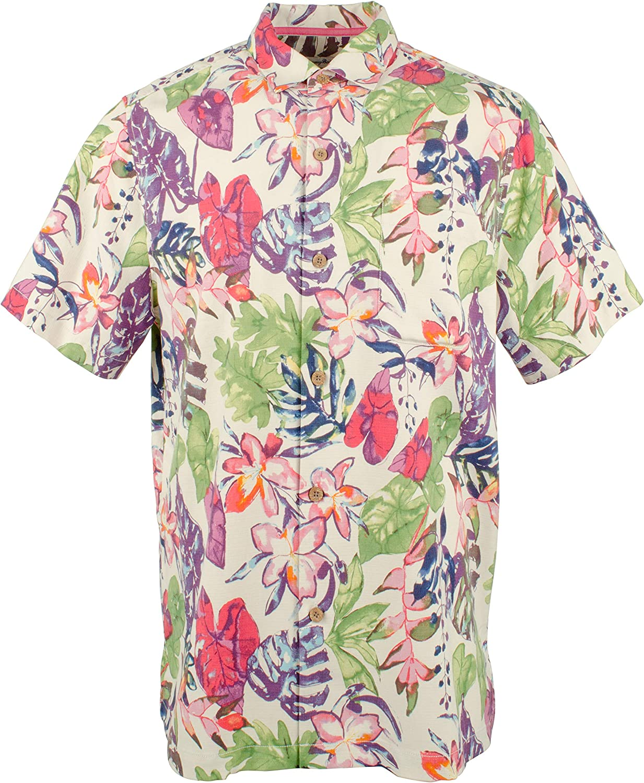 Tommy Bahama Island Zone Riviera Garden Silk Camp Shirt
