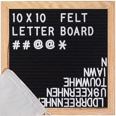 Fieltro carta Junta - incluye @ símbolo - fieltro carta ...
