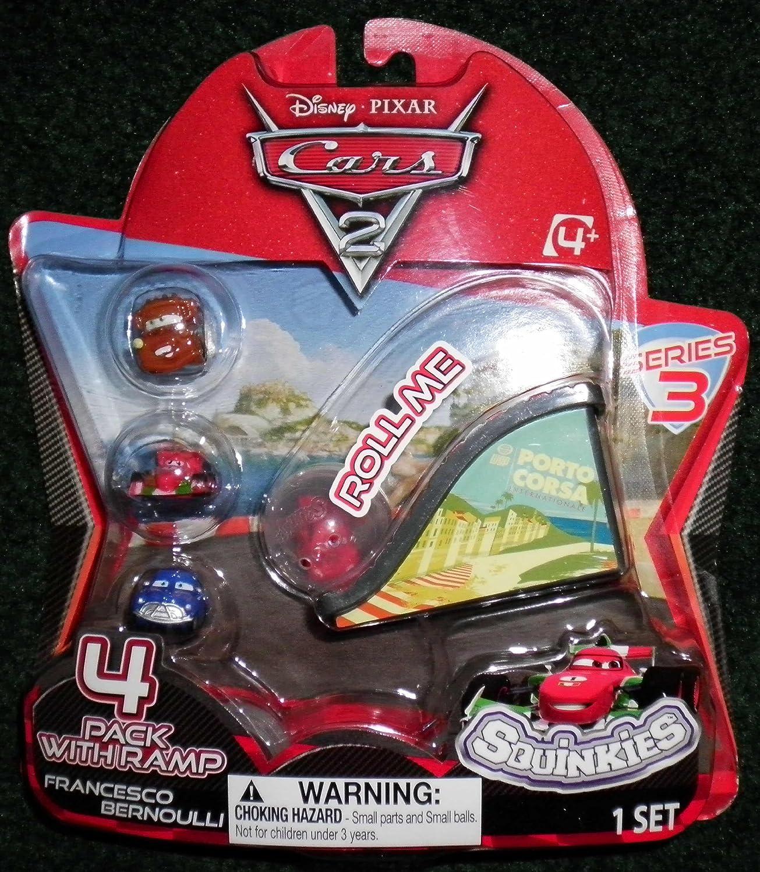 Disney//Pixar Cars 2 Movie Series 2 Bubble Pack 12-Pack Squinkies