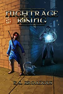 Nightrage Rising (The Unseen Chronicles Book 2)