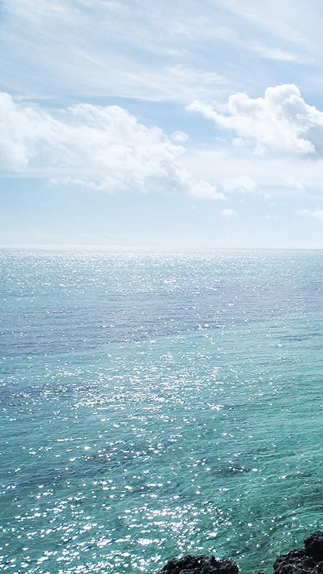 沖縄 宮古島の海 iPhoneSE/5s/5c/5(640×1136)壁紙画像