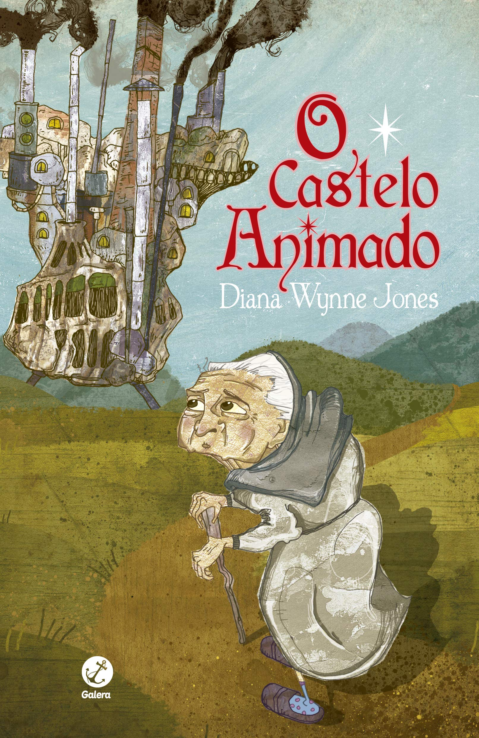 "Capa do livro ""O Castelo Animado"" de Diana Wynne Jones"