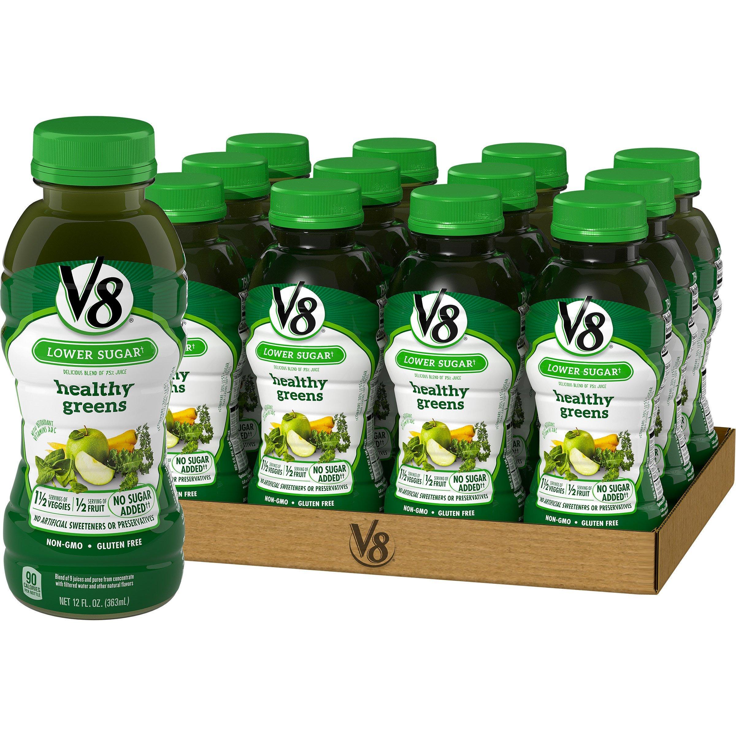 V8 Healthy Greens, 12 oz. Bottle (Pack of 12)