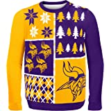 FOCO NFL mens Busy Block Ugly Sweater