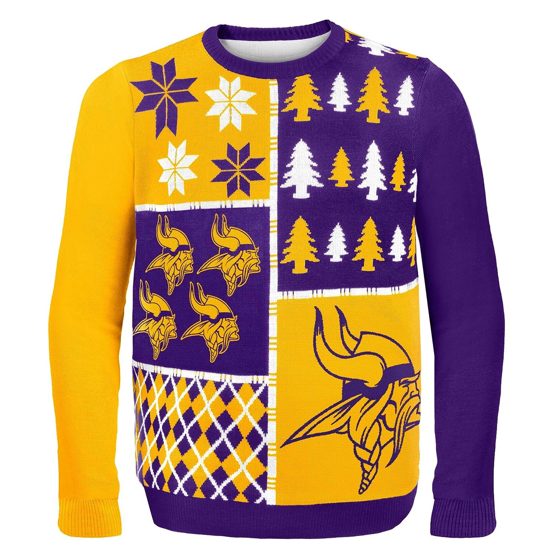 buy popular 4d6cc c4450 FOCO Men's Busy Block Ugly Sweater