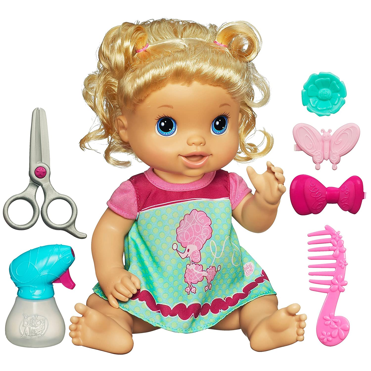 Amazon Hasbro Blonde Baby Doll Toys Games