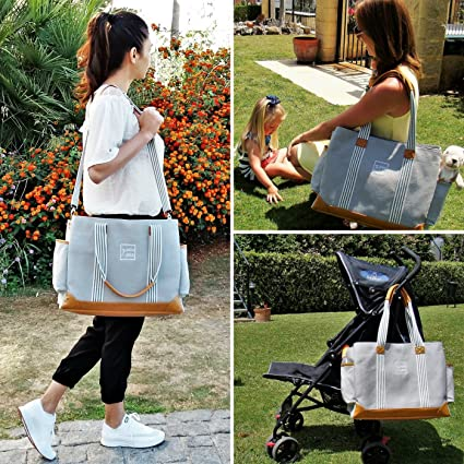 Diaper Bag for Girls and Boys - Large Capacity Baby