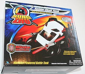 Kung Zhu Hamsters Vehículos Araña Calavera Tanque (juguetes ...